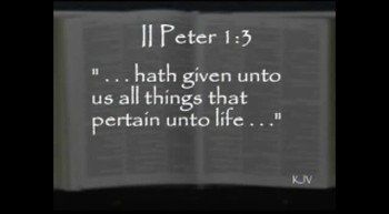 The Everliving Story: Eight Things that Accompany Salvation (01/15/12)