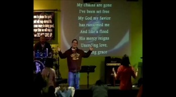 Amazing Grace (My Chains Are Gone) - Chris Tomlin cover 1-20-12