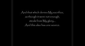 Sons of The Devil - A Prophecy Regarding Denying God's Word and Sacrifice