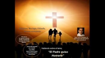 El Padre quiso honrarle.  Pastor Julio Rodriguez. La voz del que No Es