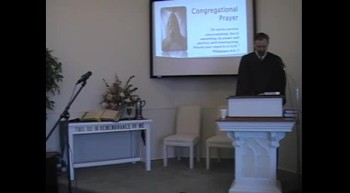 Worship Svc. Pt 2; 1/8/12 First OPC Perkasie PA