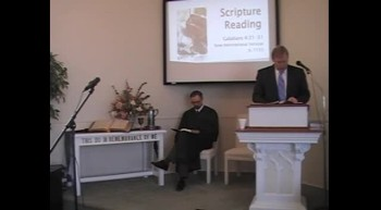 Worship Svc, Pt 1 1/15/12 R Scott MacLaren First OPC Perkasie PA USA
