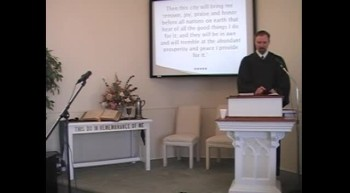 Worship Svc, Pt 2 1/15/12 R Scott MacLaren First OPC Perkasie PA USA 