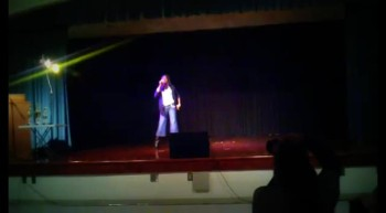 ME - Performing City On Our Knees - Talent Show