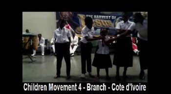 Children Movement 4 - Branch - Cote d'Ivoire