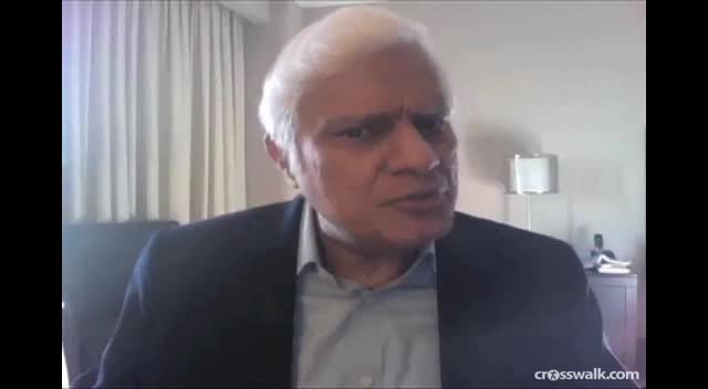 Crosswalk.com: Jesus vs. Spirituality: An Interview with Ravi Zacharias