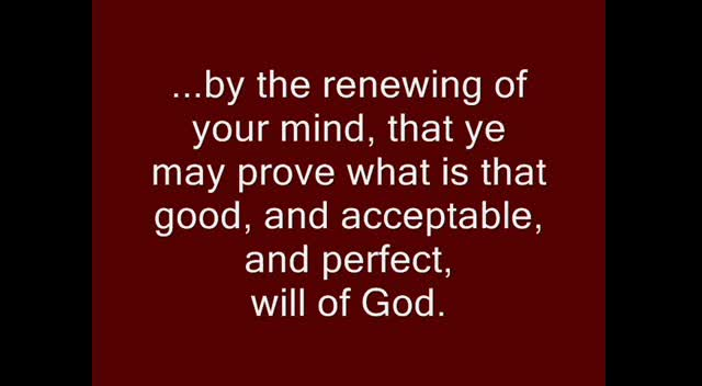 God's Truth, God's Purpose, & God's Reality