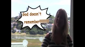 God does not remember!