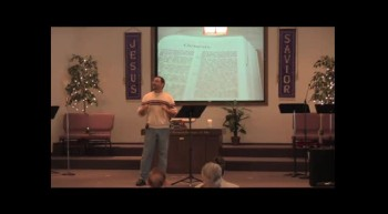 """""""Bringing God Glory, One Diaper at a Time!""""  01-29-12  Edgard Torres, FBC Caney, KS"""