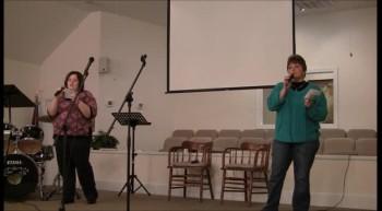 Sunday Night Sing ~ Melissa Farthing & Carmon Lewis