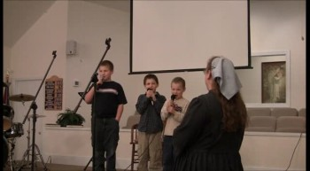 Sunday Night Sing ~ Colston Boys