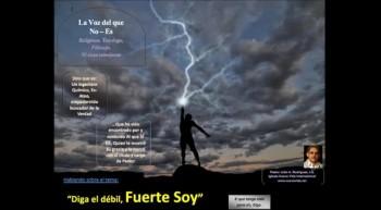 Diga el débil, Fuerte Soy.  Pastor Julio Rodriguez.  La voz del que no es