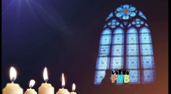 Free Religious Symbols Background Candles and Glass