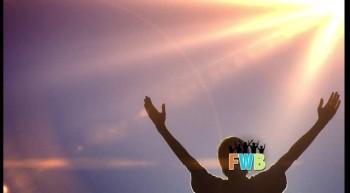 "Free Light Background ""Sun Flare Worship"""