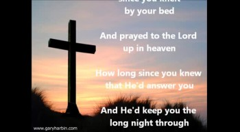 Southern Gospel Singer - How Long Has It Been