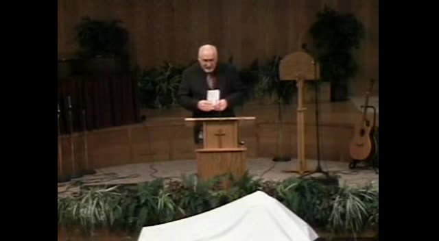 Inkom Bible Church Sermon - Rev #1