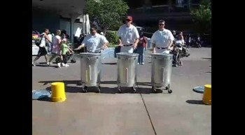 Talented Janitor Drumline