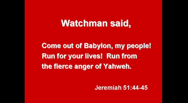 The Watchman and the Parable