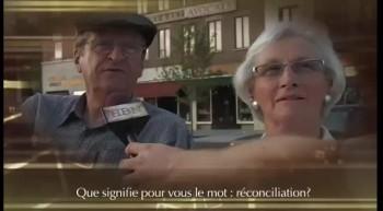 Que signifie pour vous le mot: réconciliation ?