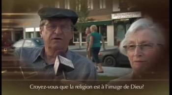 Croyez-vous que la religion est à l'image de Dieu ?