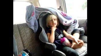 Preschool Daughter Sings: I Love my family and trash. Then worships God.