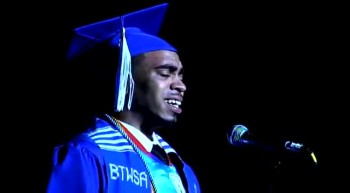 First Black Male Valedictorian in 10 Years Gives Dynamic Speech