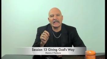 Giving God's Way