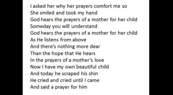 The Prayers of a Mother's Love