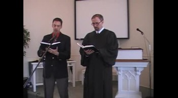 "Hymn: ""Jesus, Lover of My Soul,"" Waggoner and MacLaren, First OPC Perkasie PA 2/12/2012"