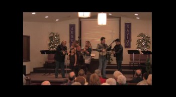 """Wait a Little Longer Sweet Jesus""  Park Family Blue Grass Band, 02-12-12  FBC, Caney"