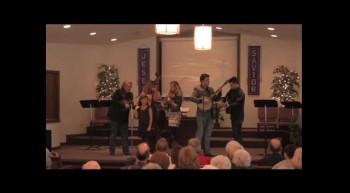 """""""Wait a Little Longer Sweet Jesus""""  Park Family Blue Grass Band, 02-12-12  FBC, Caney"""