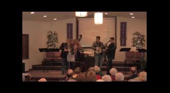 """Fiddle Praise""  Park Family Blue Grass Band, 02-12-12  FBC Caney, KS"