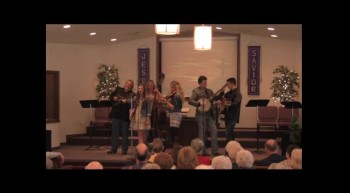 """Climbing Up The Ladder""   Park Family Bluegrass Band, 02-12-12, FBC Caney"