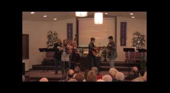"""Hoedown""  Park Family Bluegrass Band, FBC Caney, KS"