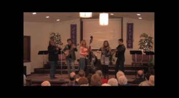 """Blue Grass In The Church""  Park Family Bluegrass Band, 02-12-12,   FBC, Caney, KS"