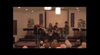 """On A High, High Mountain""  Park Family Blue Grass Band, 02-12-12,  FBC Caney, KS"