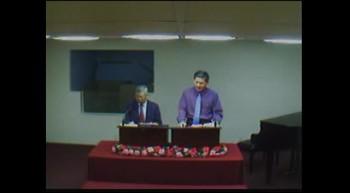 Rev. Chu 2012/01/29 Sunday School