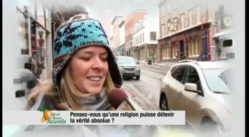 Pensez-vous qu'une religion puisse dtenir la vrit absolue ?