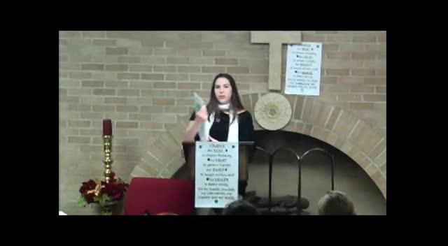 Emma Fager's speech