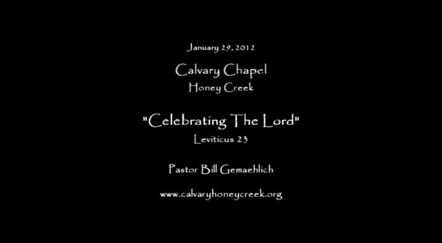 Celebrating The Lord