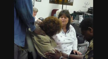Pastor James Anderson Praying for Sis Paula Feb 14 2012b
