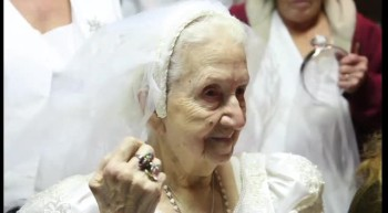 Blushing Bride at 100 Years Old - Touching Story!