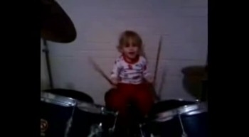 Masen (grandson) on drums