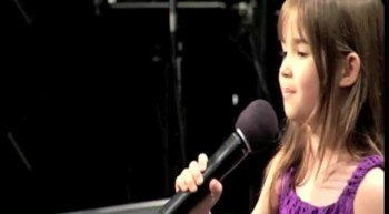 7 Year-Old Kaitlyn Maher Gives Eulogy Sings at Grandfather's Funeral There Will Be a Day
