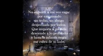 Poema: No Importa