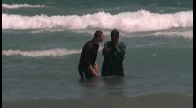 Baptism in the Atlantic