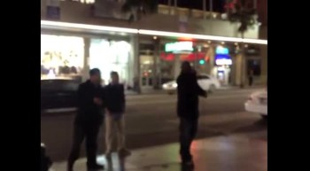 Out On Hollywood Blvd Ministering Pt. 1