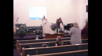 THE CARTER FAMILY HOLY GHOST SINGING AT CALVARY CHRISTIAN ASSEMBLY