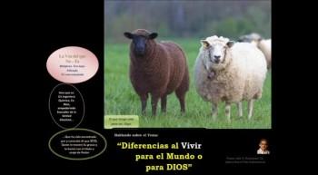 Diferencias al vivir para el Mundo o para DIOS. Pastor Julio Rodríguez, Iglesia Nueva Vida, La voz del que no es