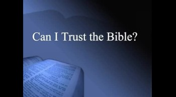 40 Days in the Word #1 - Can I Trust the Bible? - 2/26/2012